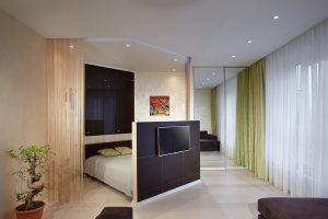 Как зонировать комнату во время ремонта
