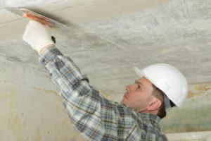 Как выполнить шпаклевку потолка